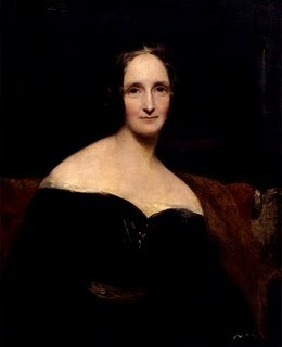 Mary Shelley - (1797-1851) (née Mary Wollstonecraft Godwin; 30 August 1797 – 1 February 1851) was a n English novelist, short story writer, dramatist, essayist, biographer, and travel writer, best known for her Gothic novel 'Frankenstein: or, The Modern Prometheus' (1818).  She also edited and promoted the works of her husband, the Romantic poet and philosopher Percy Bysshe Shelley.