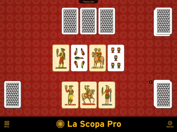 GET READY TO TRY AN EXCLUSIVE AND TOTALLY FREE GAME EXPERIENCE! Optimized graphic for retina display and for The New iPad. Download for FREE on your iPad or iPhone: http://bit.ly/LSPen | Scarica GRATIS La Scopa Pro per il tuo iPad o iPhone: http://bit.ly/LSPit