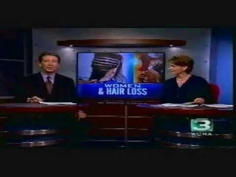 Women and Hair Loss news segment featuring award winning hair replacement specialist Helen Owens