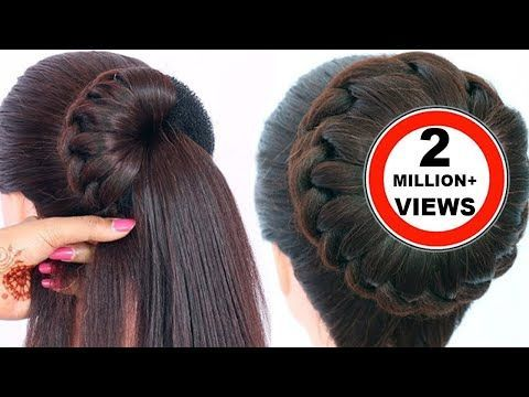 Coiffure rapide et facile pour le mariage || Belle coiffure sans chaleur pour les filles || Hair style girl - YouTube - #beautiful #girls #hairstyle #heatless