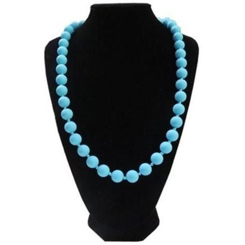 Fashionable Silicone Teething Necklace for Mom to Wear with Teething Baby - Lisa