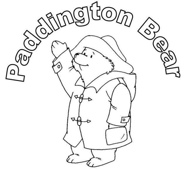 Paddington Bear Coloring Page For Kids Bear Coloring Pages Coloring Pages Coloring Pages For Kids
