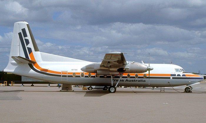 Trans Australia Airlines F27-100 (VH-TQS)