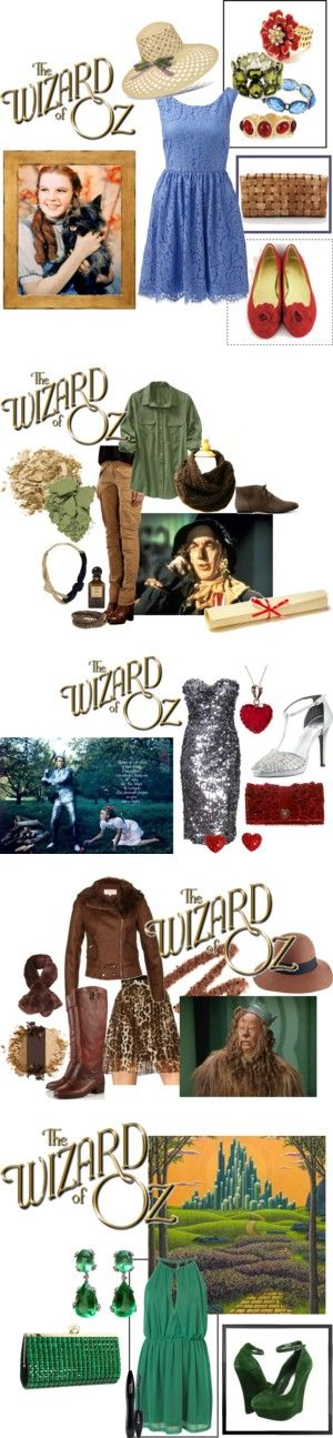 """Wizard of Oz"" by vintagemoviegal on Polyvore"