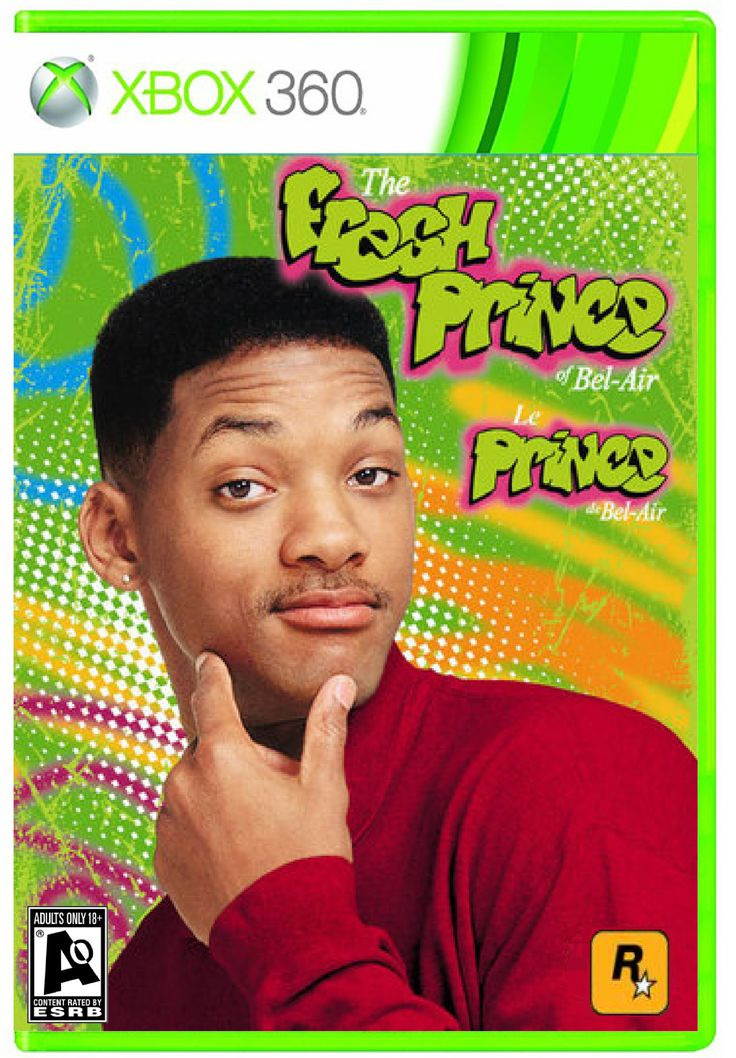The frsh prince of belair The video game Fresh Prince