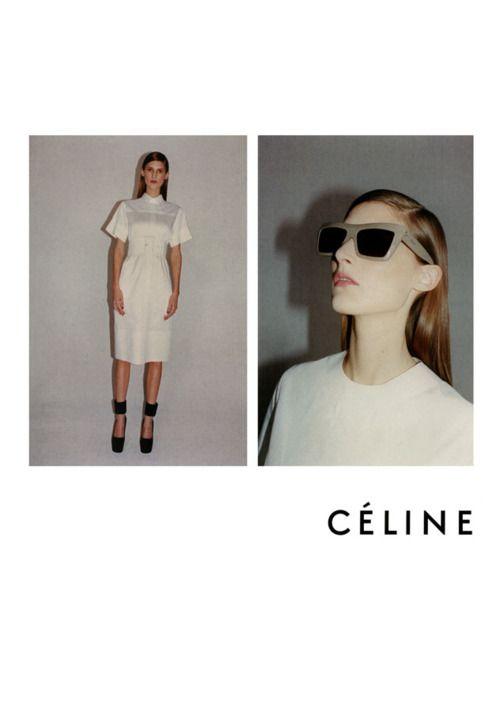 Céline spring/summer 2012 advertisement: JUERGEN TELLER