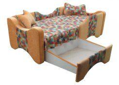 Детский диван Рикки описание, фото, выбор ткани или обивки, цены, характеристики