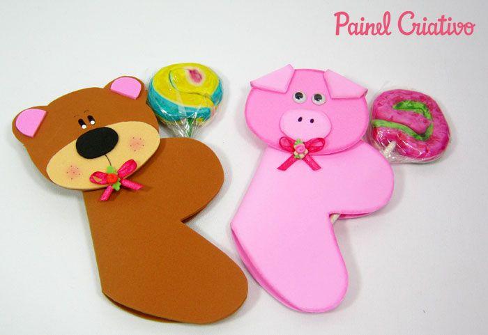 πώς να κάνουν τα παιδιά με σουβενίρ eva πόρτα μέρα γλειφιτζούρι κατοικίδια leaozinho βάτραχος αρκούδα χοίρων (2)