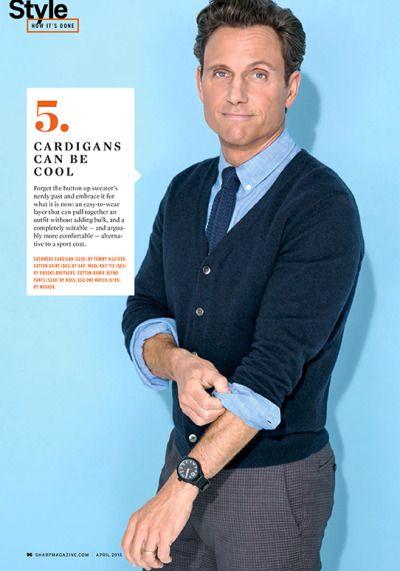 Tony Goldwyn, Sharp Magazine