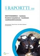 Kuvaus: Hankkeen tavoitteena oli edistää nautojen terveyttä ja tuotannon kannattavuutta vasikasta poistolehmään saakka sekä tuoda uutta ja syventävää  tietoa viljelijöille. Julkaisuun on koottu hankkeen vasikkaosioiden keskeisimmät tulokset.