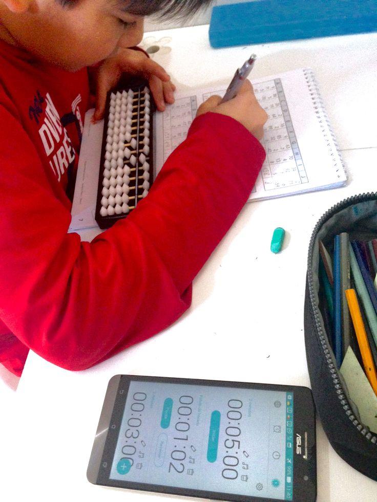 Cronometrando a resolução de problemas matemáticos!