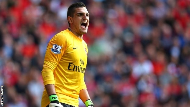 Arsenal goalkeeper Vito Mannone believes his development was helped by a loan spell at Hull City, despite his initial reservations about the move.