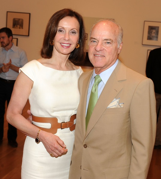 Henry Kravis and his wife, Marie-Josee Kravis at the MoMA
