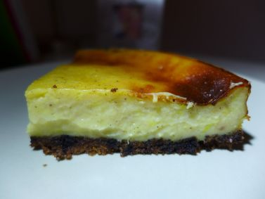 Easy cheesy vegan Cake