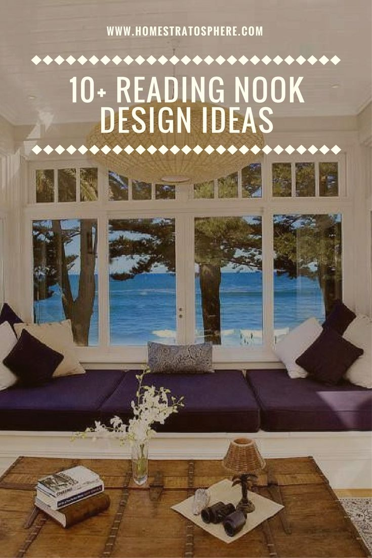 10+ Reading Nook Design Ideas (Photos)