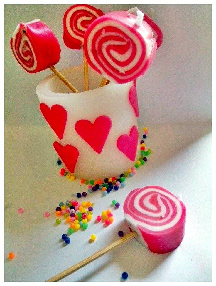 lollipop candles