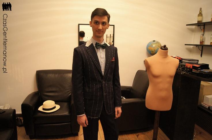 Efekt III przymiarki - bez kamizelki | Third suit fitting effect - without the vest