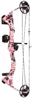 Bear® Apprentice RTH Compound Bow Package - Pink Camo | Bass Pro Shops