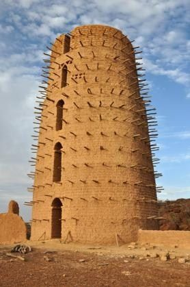 Africa   Part of a mud mosque in Bani. Not as grand as the famous one in Mali, but built on the same lines.   © Rhoda1 on Wanderlust