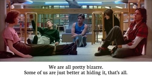 The breakfast club quotes
