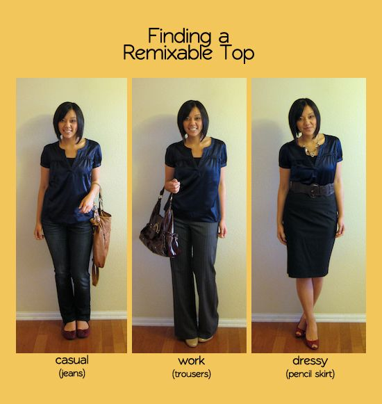 Putting Me Together: Building a Remixable Wardrobe, Part 2: Shopping for Remixable Pieces