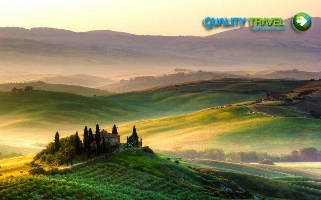 Pokochajte sa krásami Toskánska a okrem známych miest ako je Florencia, Pisa a Lucca navštívte aj ostrov Elba. V cene je ubytovanie, raňajky a doprava