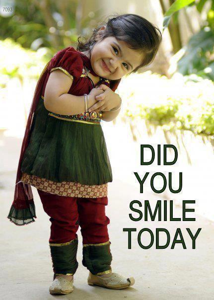 Go ahead, smile now! :)
