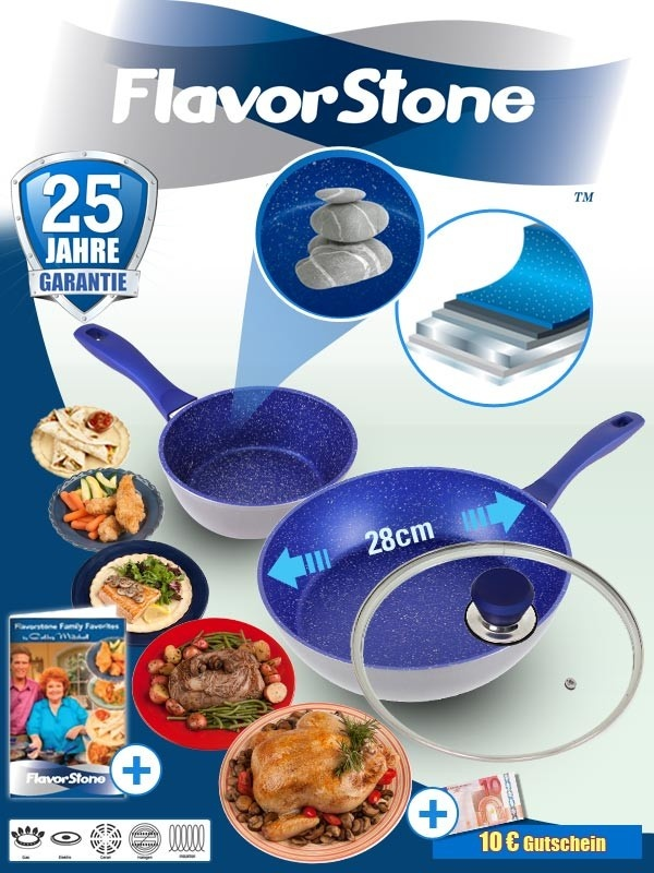 Flavorstone Cookware. Amazing non stick PFOA Free Cookware that makes clean up a breeze ! Click here for 25% off your Flavorstone purchase. Hurry offer ends July 26th!.     http://www.facebook.com/thanedirectnorthamerica/app_190322544333196