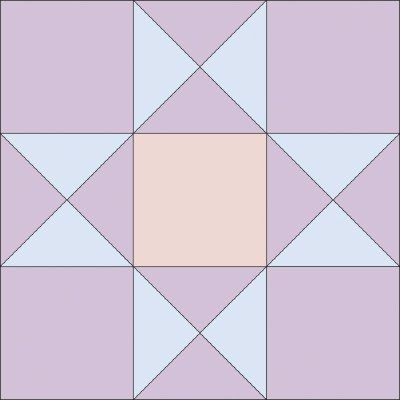 Ohio Star Quilt Block   Star quilt blocks, Star quilts and ...