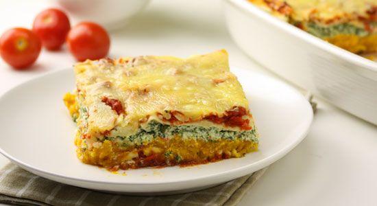 Pumpkin & Ricotta Lasagne - weightloss.com.au