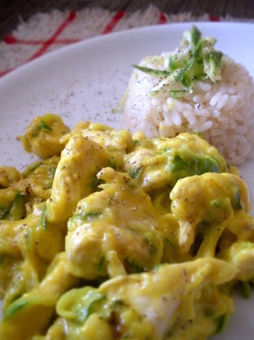 Saffron and zucchini chicken check http://panelatte.tumblr.com/ for recipe
