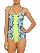 Seafolly Vintage Maillot $179.95 #seafolly #davidjones #trend #fashion #style #floral #florals #print #spring #love #romance