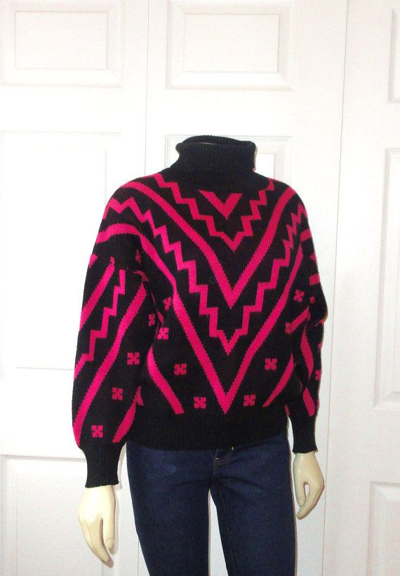 Vintage Sweater 80s Gap Clothing Co by 2sweet4wordsVintage on Etsy, $34.99