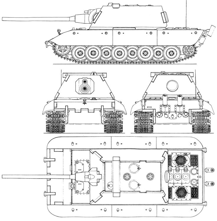 182 best panzer images on pinterest military vehicles armored e 100 blueprint malvernweather Images