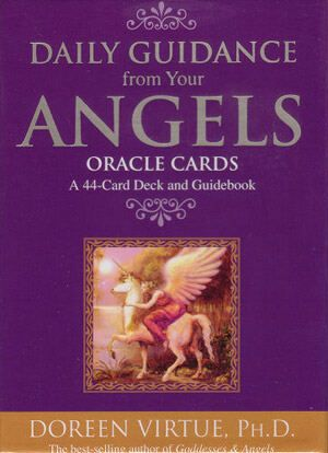 Daily Guidance From Your Angels Oracle Cards - $25.00 www.newagecave.com