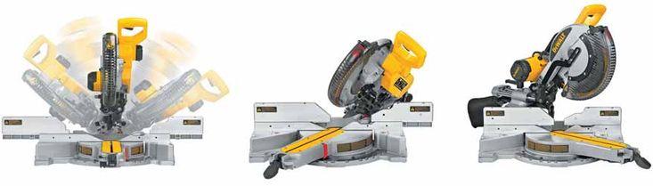 DEWALT Double-Bevel Sliding Compound Miter-Saw http://lifesabargain.net/dewalt-dw717-10-inch-double-bevel-sliding-compound-miter-saw/