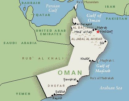 85 best omn maskat images on pinterest muscat arabian horses map of oman gumiabroncs Gallery
