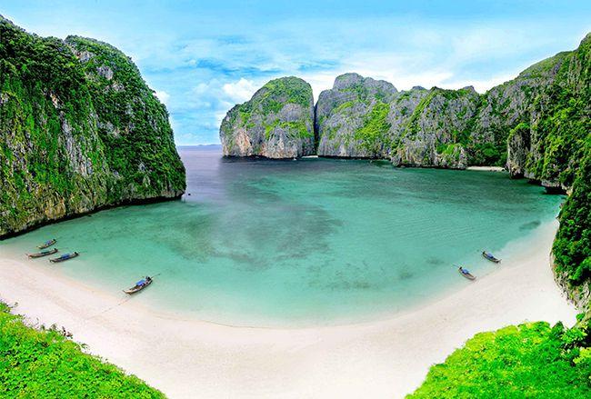 Praias paradisíacas pelo Mundo - Maya Bay, Ilhas Phi Phi