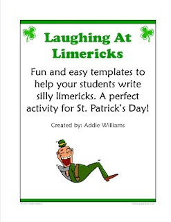 limerick writing activities