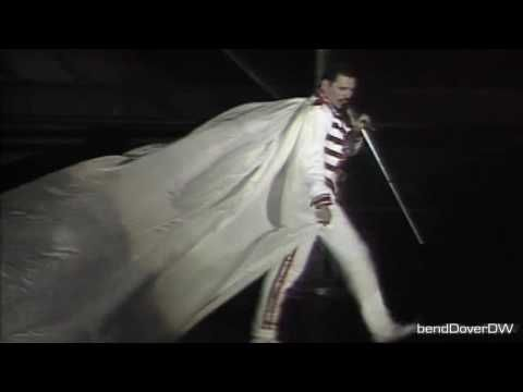 Queen - We Will Rock You (Live at Wembley Stadium) HD.  Music, video, Freddie Mercury