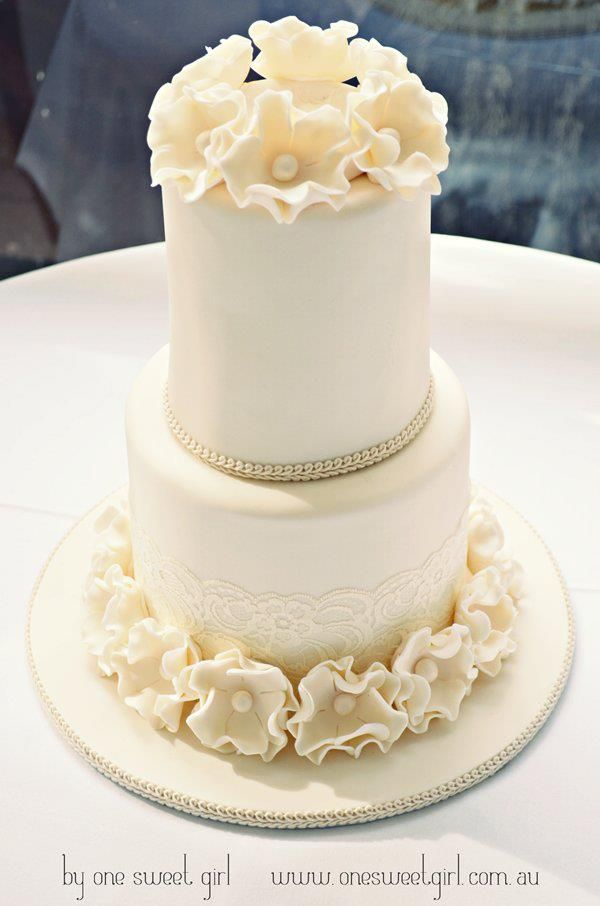 Divine Wedding Cakes For Your Big Day - One Sweet Girl