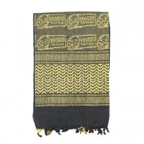 Shemagh, Arab Head Scarf, Kafiya with Voodoo Tactical Logo
