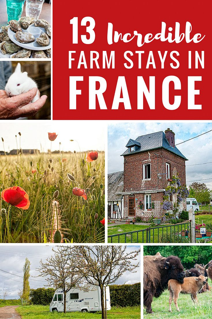 13 Incredible Farm Stays with France Passion