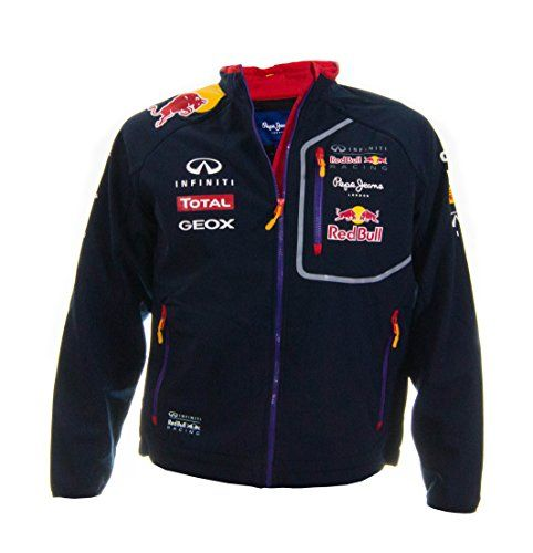 Puma OFFICIAL TEAM MERCHANDISE MENS PEPE JEANS INFINITI RED BULL SOFT SHELL FORMULA 1 MOTOR RACING JACKET OFFICIAL TEAM MERCHANDISE High-Quality Infiniti Red Bull Racing and partner Logos Stand-up collar Zipped pockets with Purple edging Branded Zip pulls and Velcro fastener (Barcode EAN = 0700461624196) http://www.comparestoreprices.co.uk/december-2016-5/puma-official-team-merchandise-mens-pepe-jeans-infiniti-red-bull-soft-shell-formula-1-motor-racing-jacket.asp