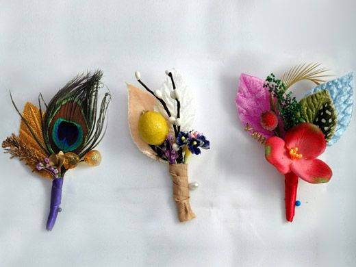 boutonnieres of a feather