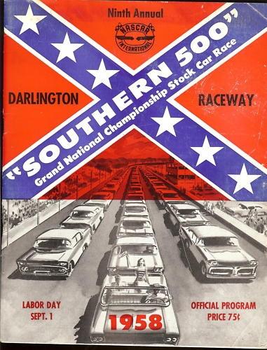 Darlington: 1958 Southern 500