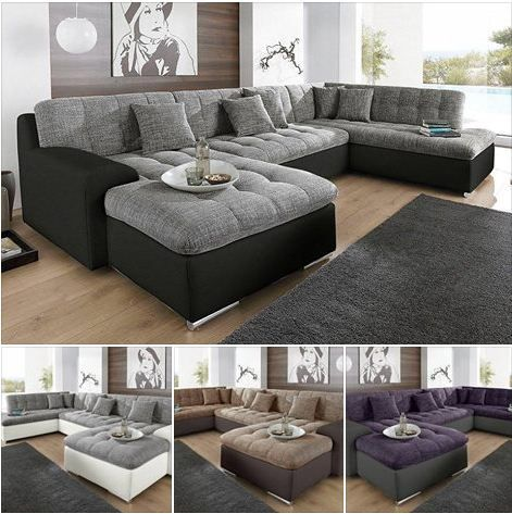 big couch, living room