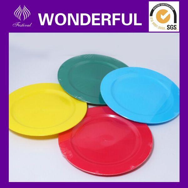 Navidad baratos placas de plástico y platos para niños