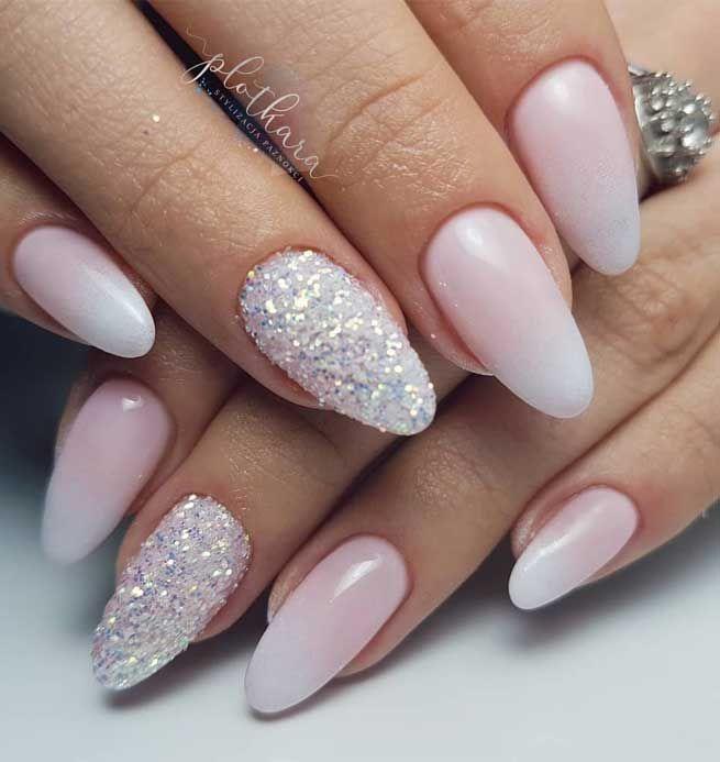 41 best wedding nail ideas for elegant brides in 2020 ...