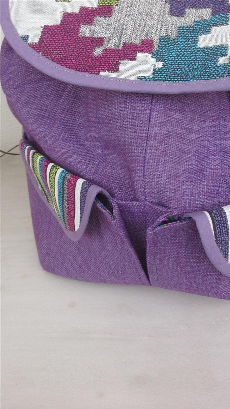 Backpack Nr 2. Pattern by Lisa Lam